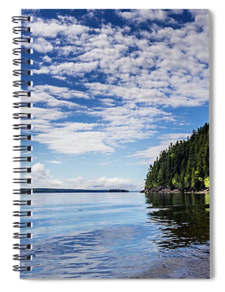 St Croix River Pano Spiral Notebook