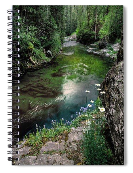 St Joe River Spiral Notebook