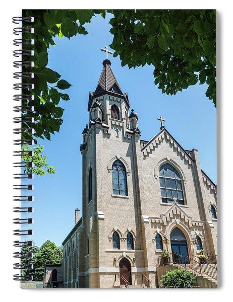 St. Joseph Catholic Church Spiral Notebook by Edward Peterson