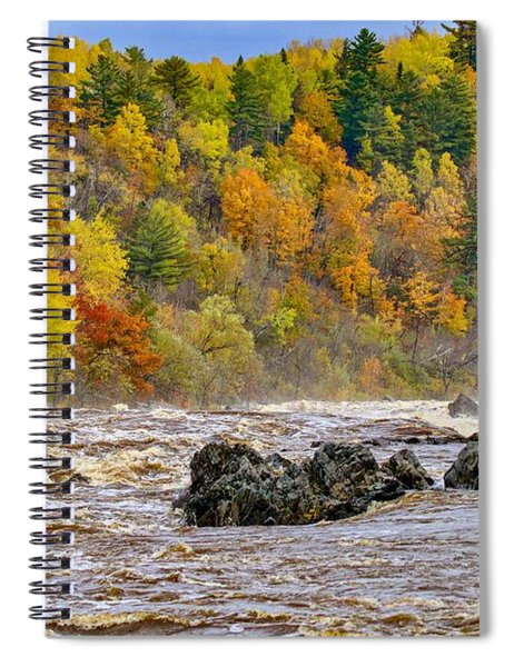 St. Louis River At Jay Cooke Spiral Notebook