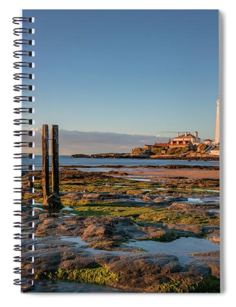 St Mary's Lighthouse - England Spiral Notebook