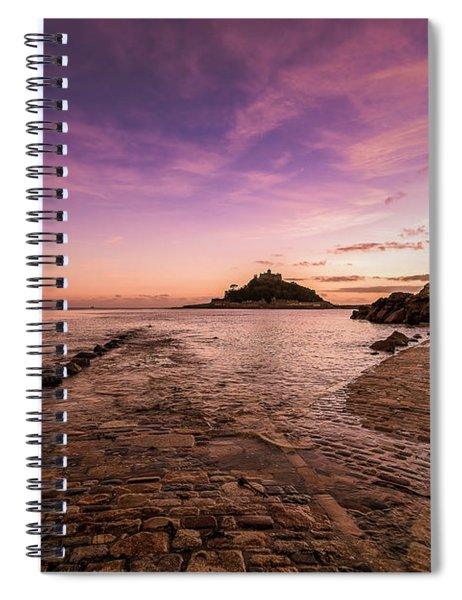 St Michael's Mount - January Spiral Notebook