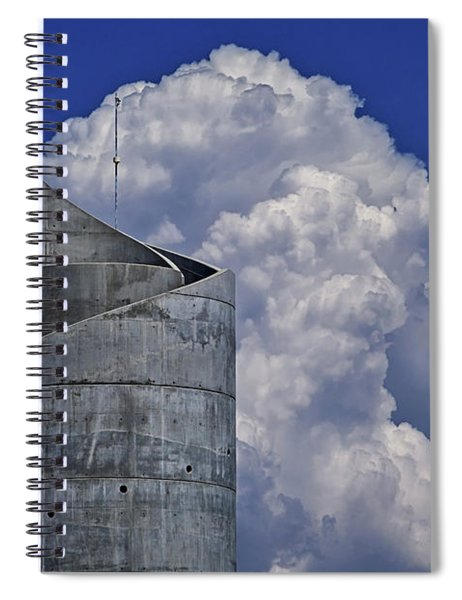 Stacked Spiral Notebook by Skip Hunt