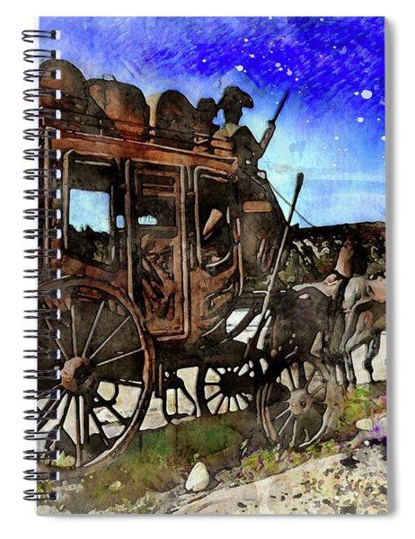 Stagecoach Spiral Notebook