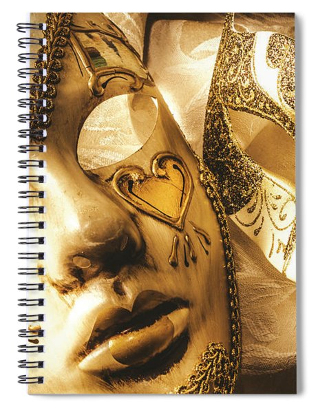 Staged Out Romances Spiral Notebook