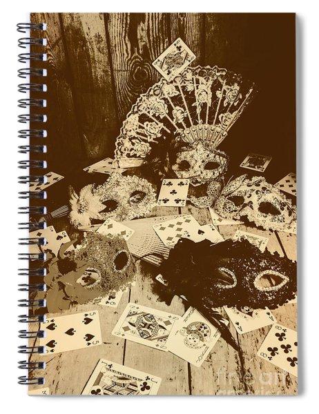 Staged Western Spiral Notebook