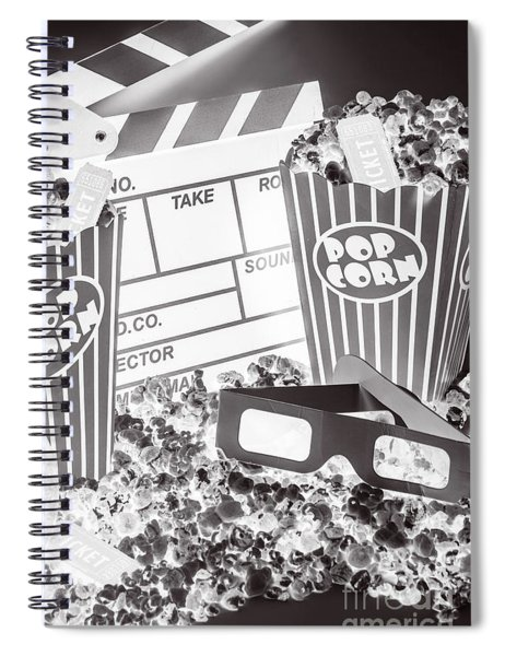Staging A Scene Spiral Notebook