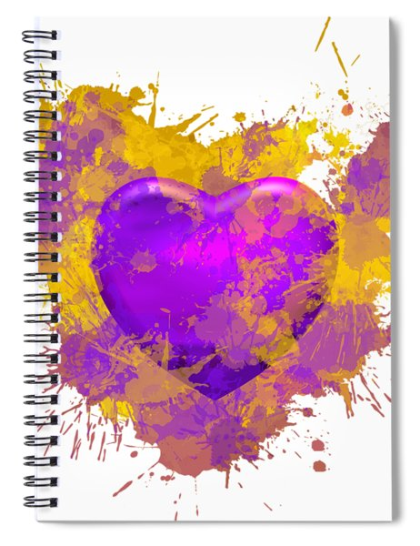 Stain Lakers Spiral Notebook