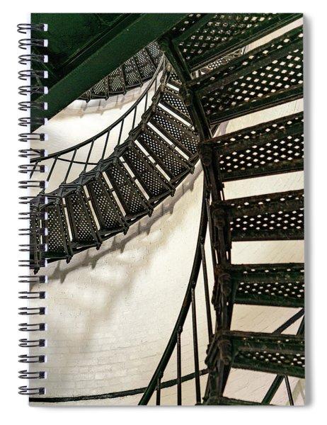 Stairs 2 Spiral Notebook