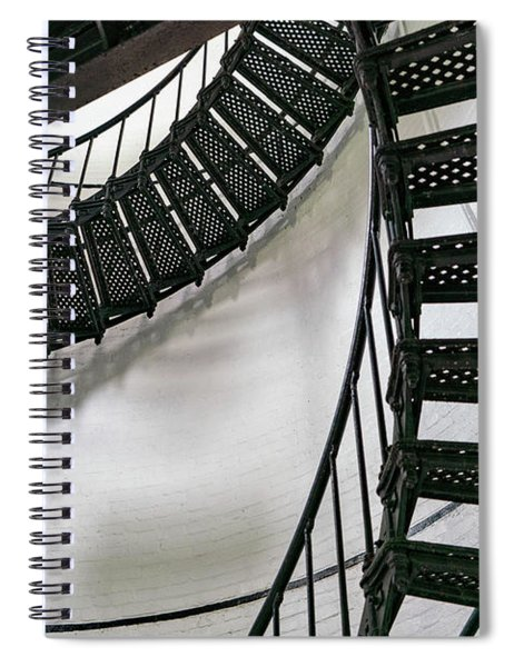 Stairs 3 Spiral Notebook