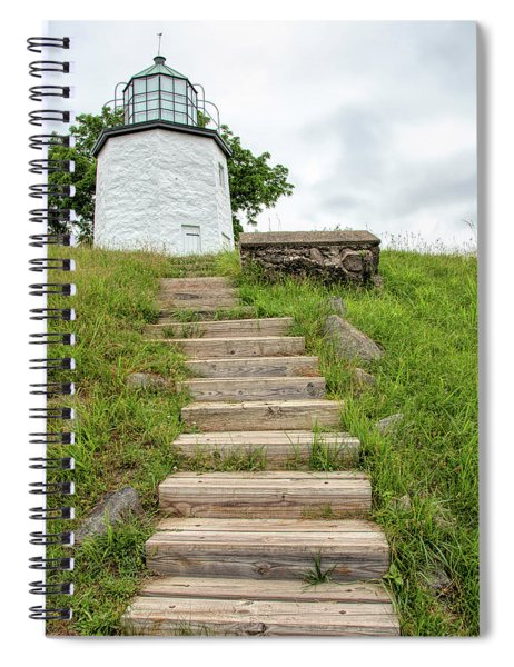 Stairs To Stony Point Lighthouse Spiral Notebook