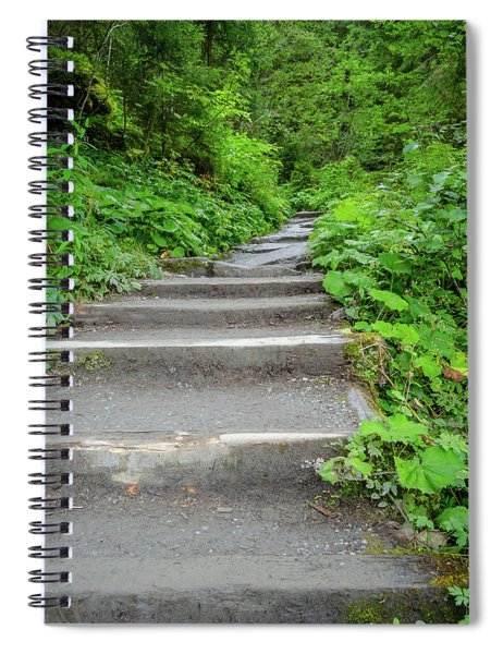 Stairs To The Woods Spiral Notebook