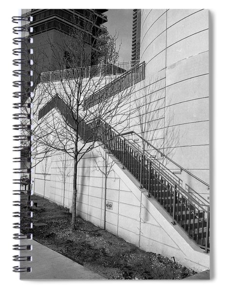 Stairs Up The Side Spiral Notebook