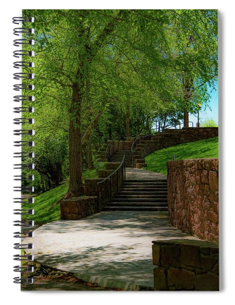 Stairway To Carlyle Spiral Notebook