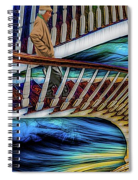 Stairway To Perdition Spiral Notebook