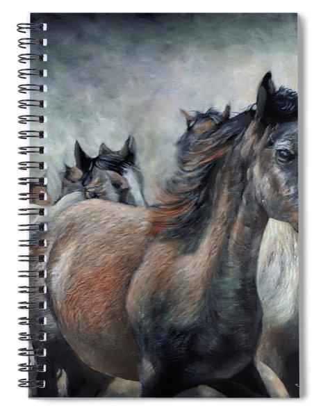 Stampede Spiral Notebook