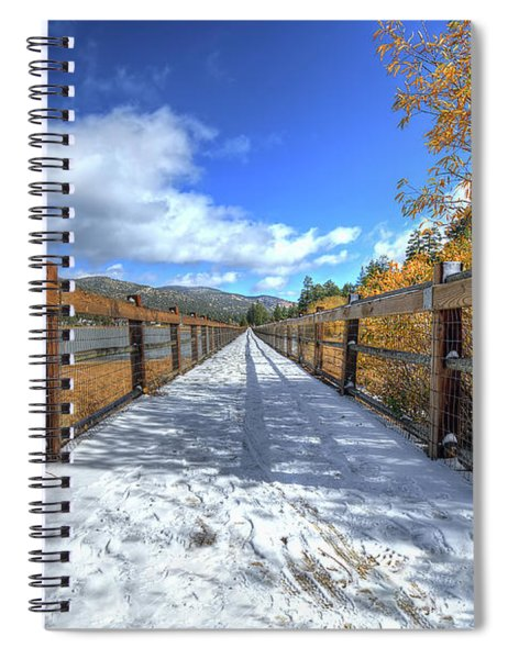 Stanfield Marsh Wildlife And Waterfowl Preserve Bridge Spiral Notebook