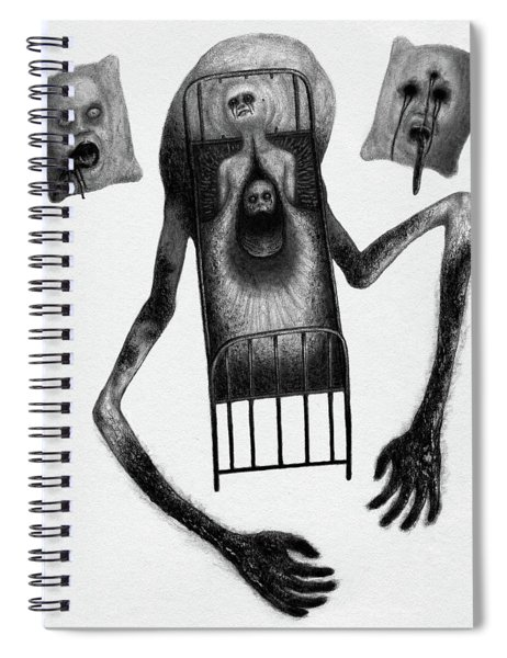 Stanley The Sleepless - Artwork Spiral Notebook