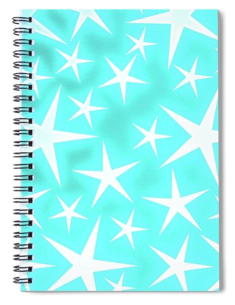Star Burst 1 Spiral Notebook