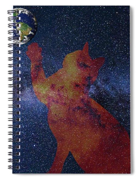 Star Cat Spiral Notebook