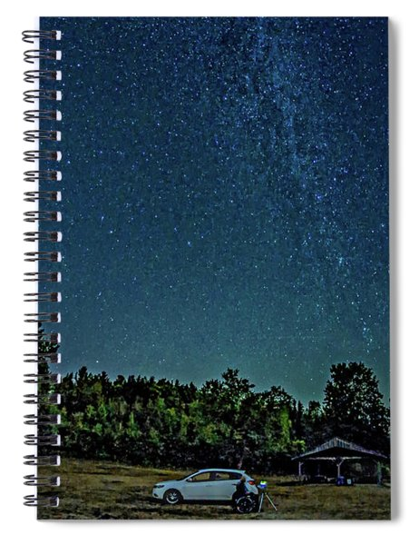 Star Shooter Spiral Notebook