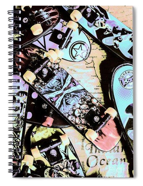 Star Skaters Spiral Notebook