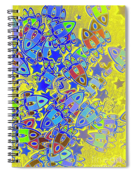 Starlight Adventures Spiral Notebook