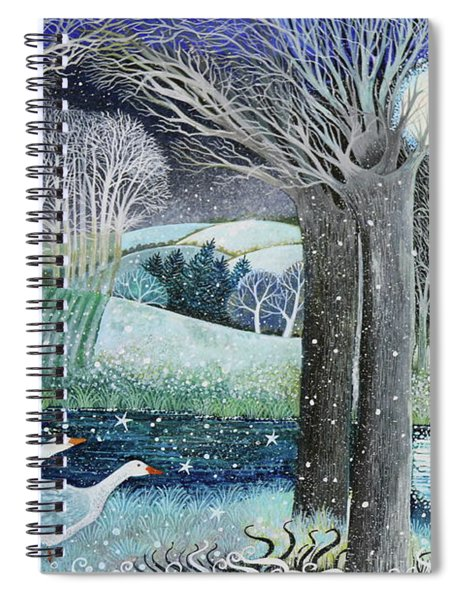 Starry River Spiral Notebook