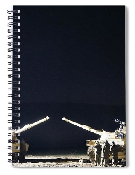 Stars Can Only Shine In Darkness Spiral Notebook