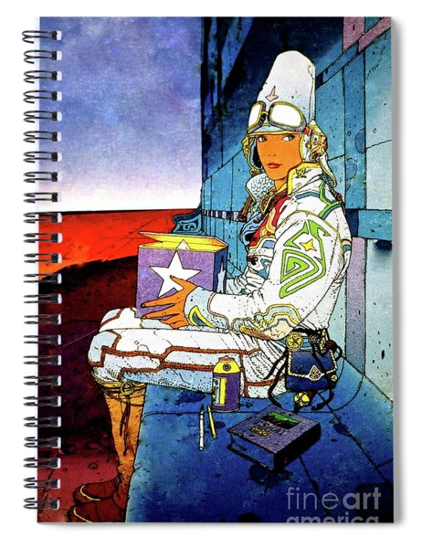 Starwatcher Spiral Notebook