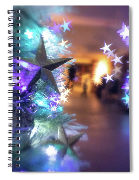 Stary Night 1 Spiral Notebook