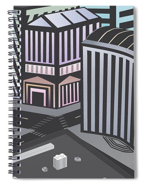 State City Spiral Notebook