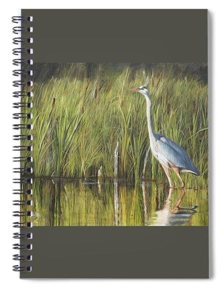 Stately Grace Spiral Notebook