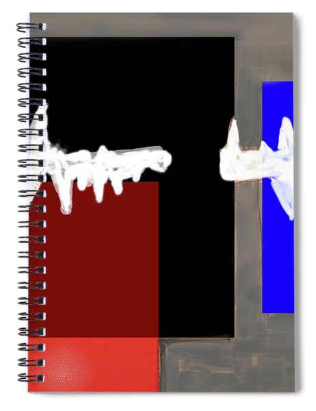 Static Spiral Notebook