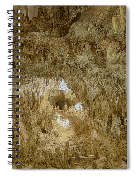 Stay On The Path Through The Hinterland Spiral Notebook