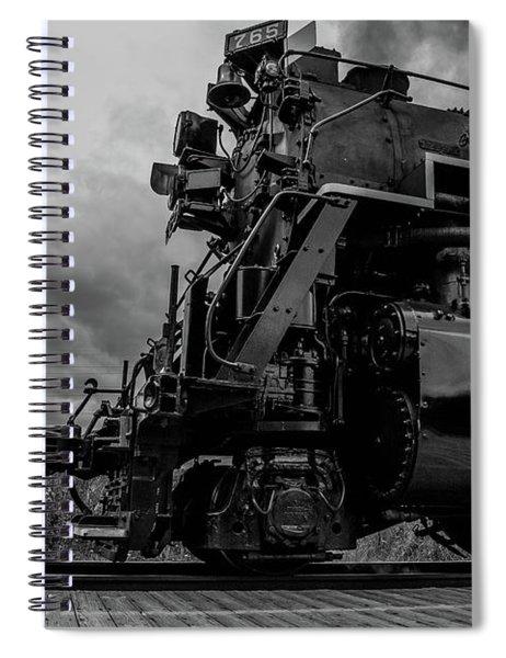 Steam Loco 765 Spiral Notebook