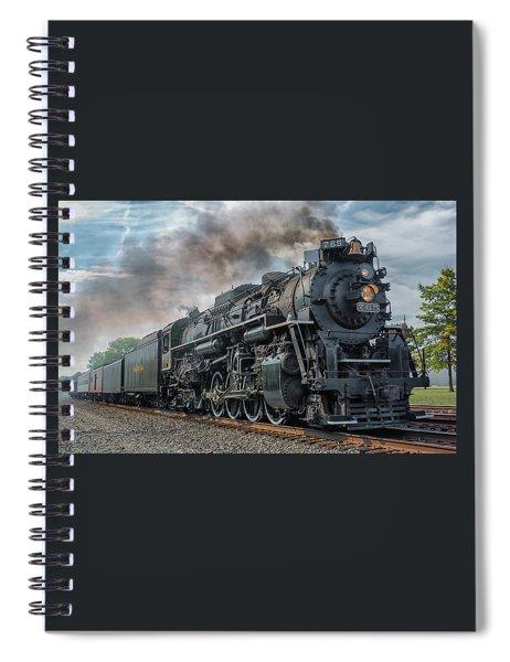 Steam Train  Spiral Notebook