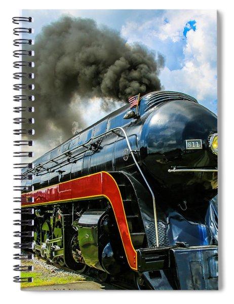 Steam's Up 611 Spiral Notebook