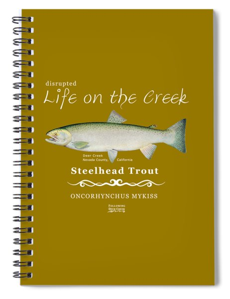Steelhead Trout Spiral Notebook