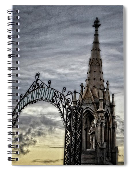 Steeple And Steel Spiral Notebook