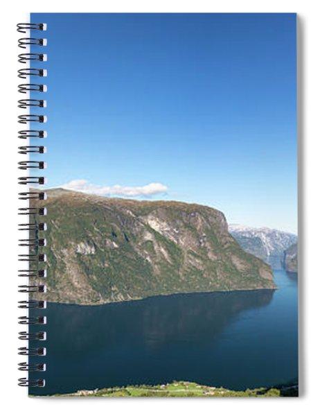 Stegastein, Norway Spiral Notebook