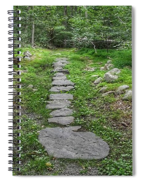 Stepping Stone Path - Kinnelon Spiral Notebook