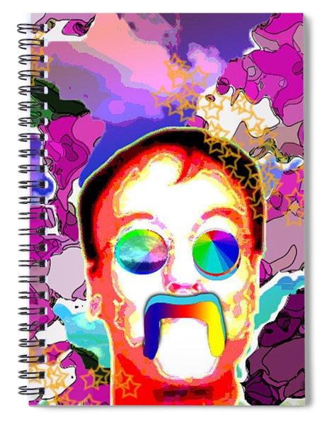 Stevie Max Spiral Notebook
