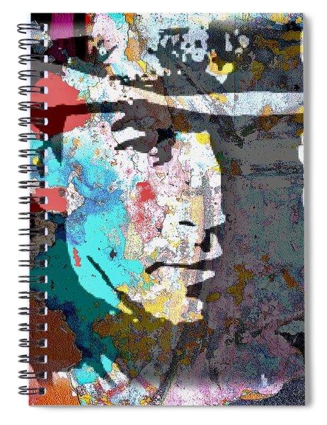 Stevie Ray Vaughan Spiral Notebook