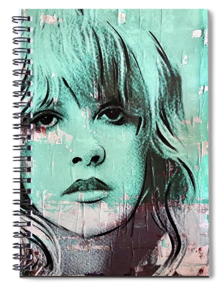 Stevies Crystal Visions Spiral Notebook