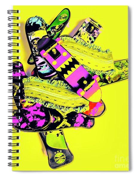 Still Life Street Skate Spiral Notebook