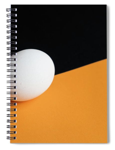 Still Life With Egg Spiral Notebook