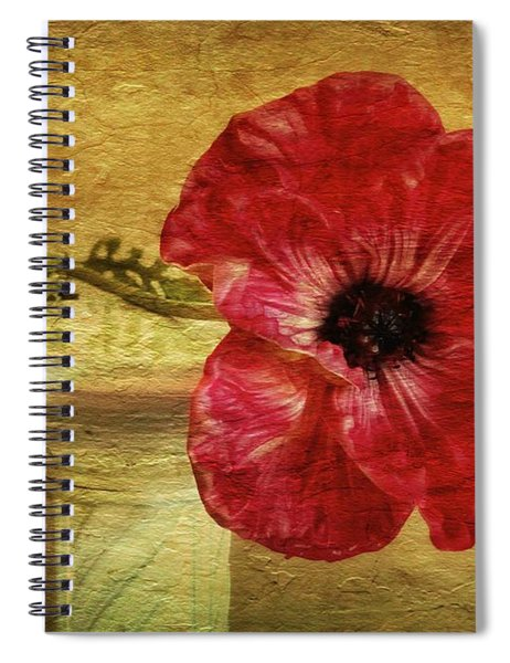 Still Life With Poppy Spiral Notebook