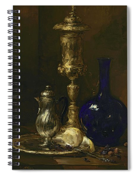 Still Life With Vase Spiral Notebook