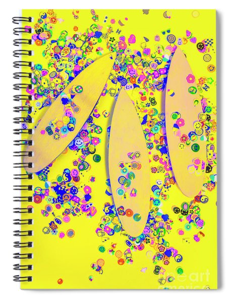 Still Surfboarding Spiral Notebook